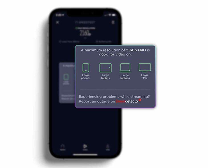 SpeedTest para iOS