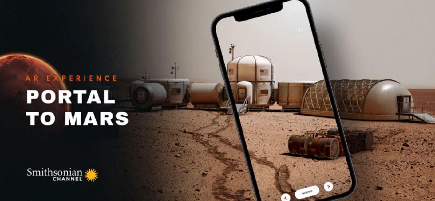 Conduce los vehículos de Marte con Realidad Aumentada