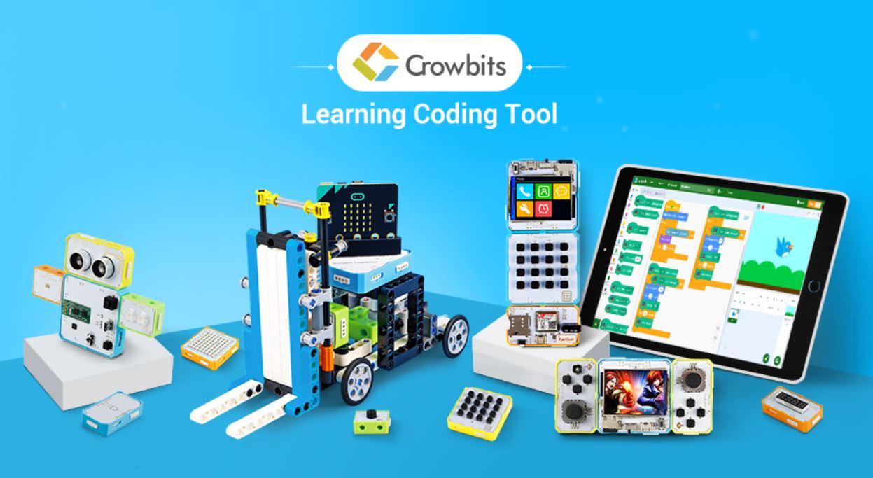 Crowbits, un fantástico nuevo kit de programación y construcción para niños