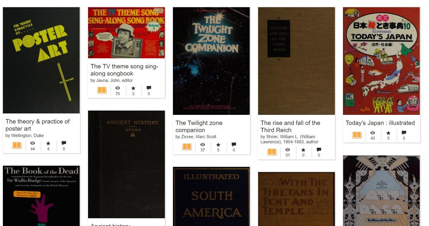 Más de un millón de objetos digitalizados de una enorme biblioteca de historia del cine