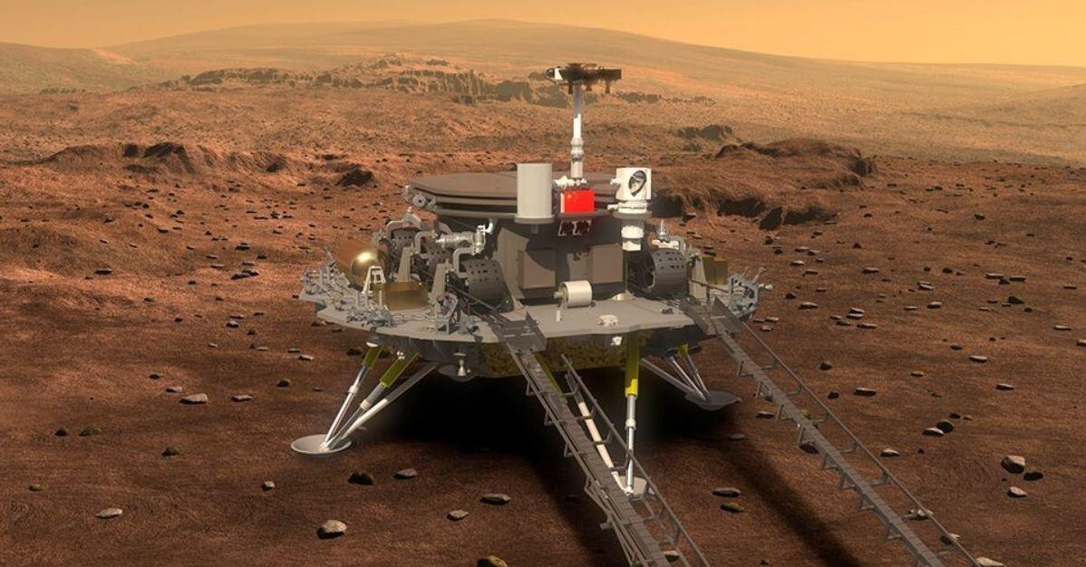 Así es la misión china en Marte