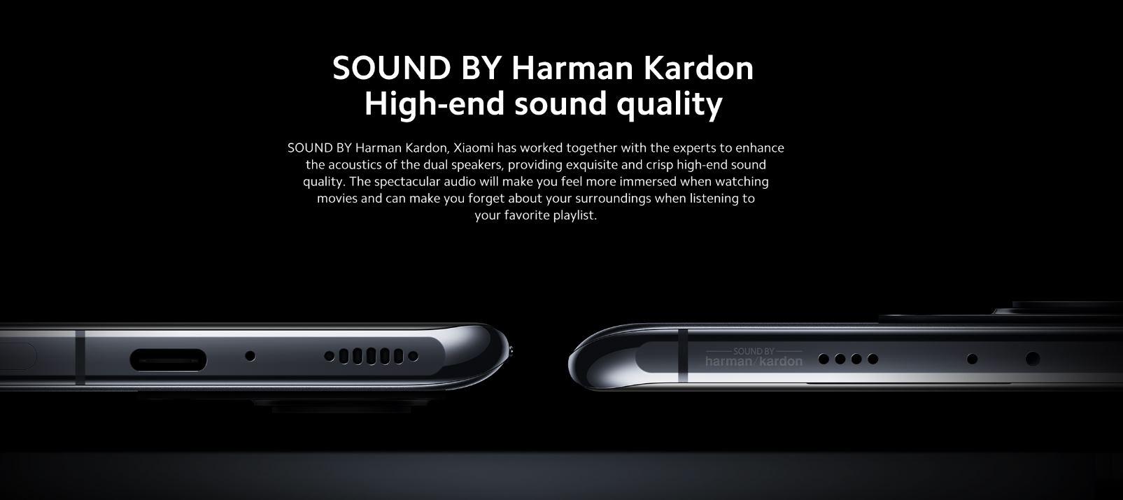 sonido del Xiaomi Mi 11