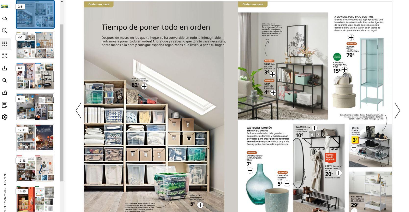 Revista digital de IKEA e IKEA Family, ya disponible el catálogo online