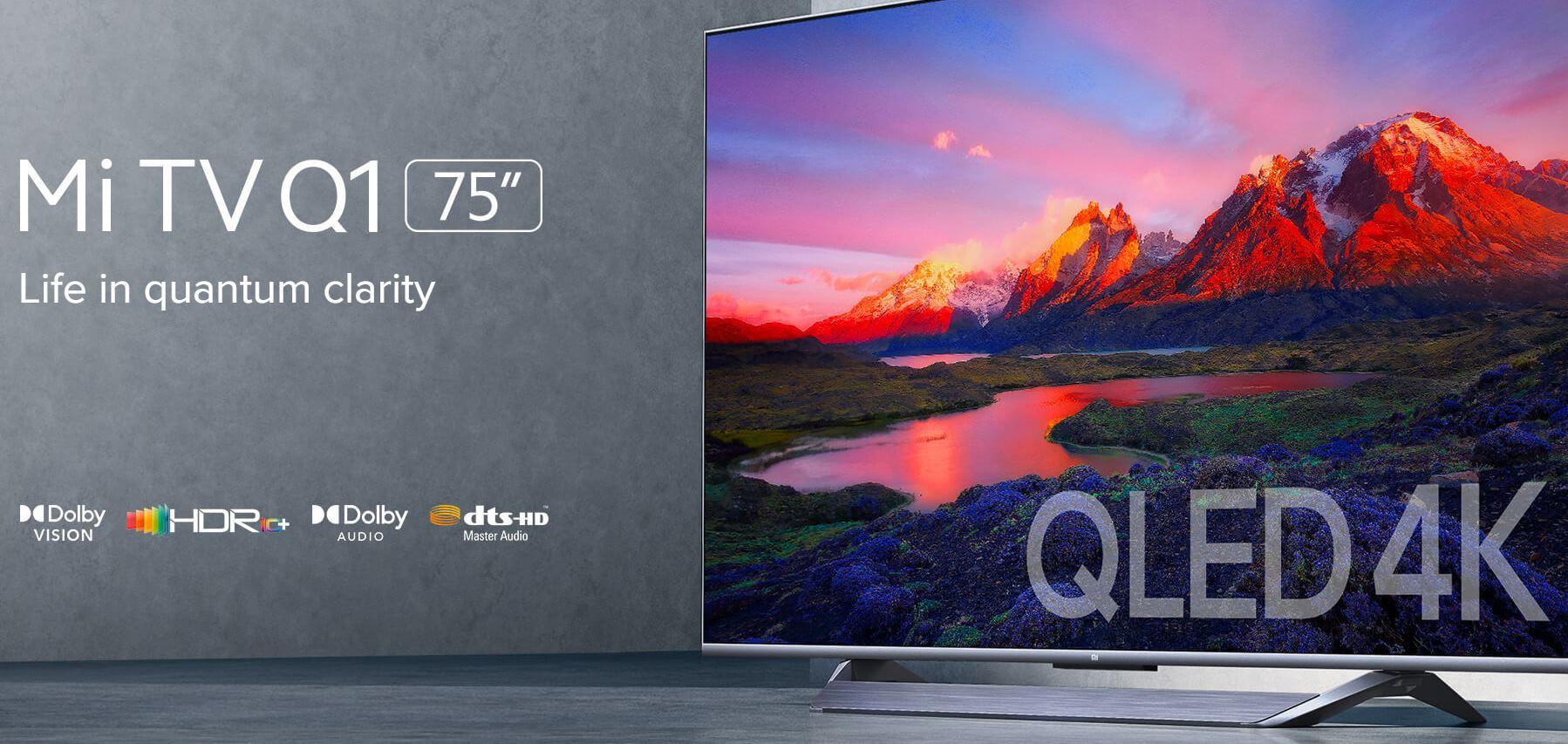 Así es la TV QLED barata de 75 pulgadas de Xiaomi