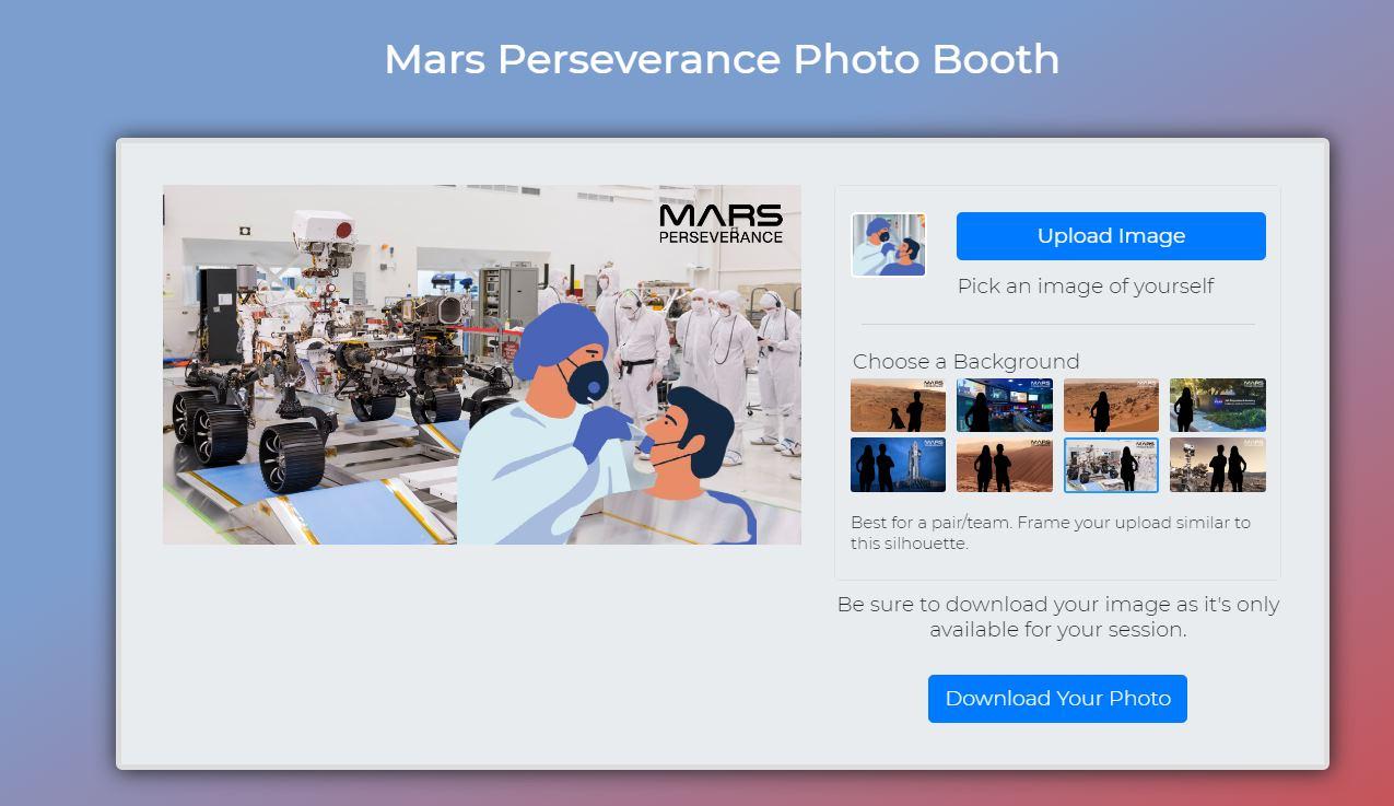 Así puedes hacerte un selfie en Marte con la web de la NASA