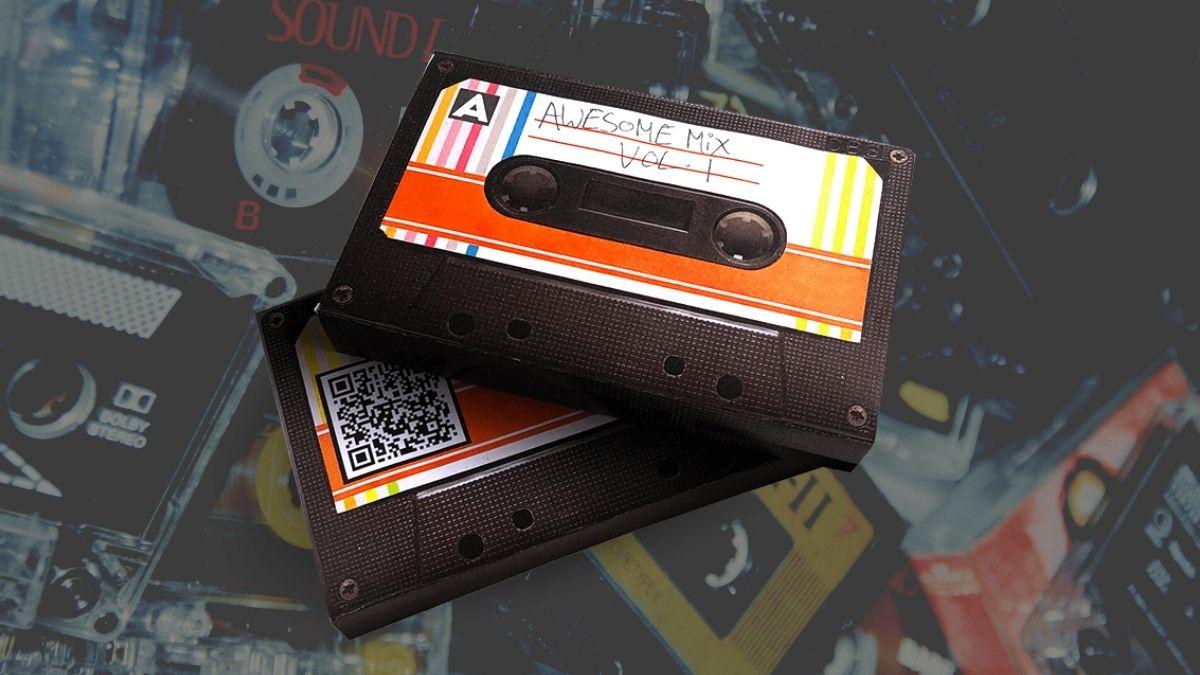 Comparte una playlist a través de un casete que puedes imprimir