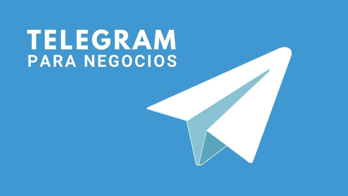 Telegram para negocios