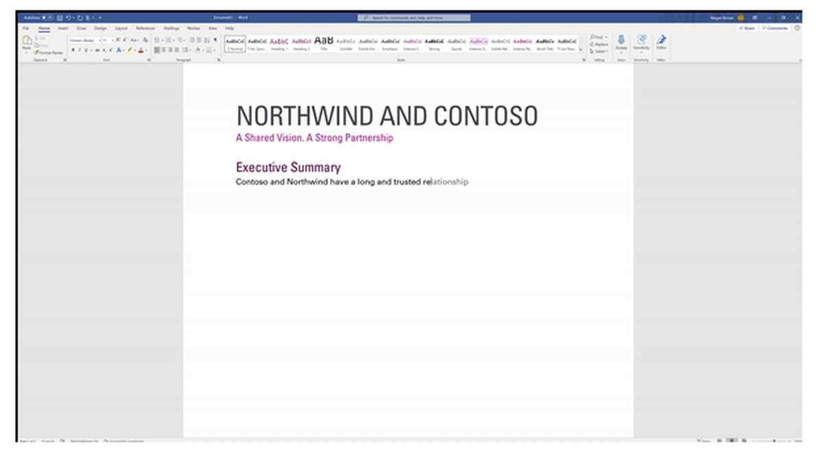 Microsoft Word tendrá su propia función de predicción de textos este mes de marzo