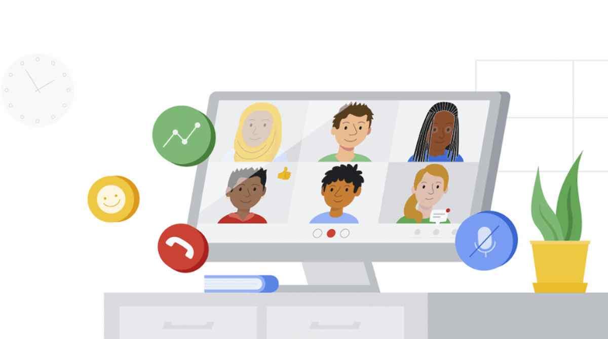 Google trae una guía sobre Meet para padres y tutores, anunciando también algunas novedades