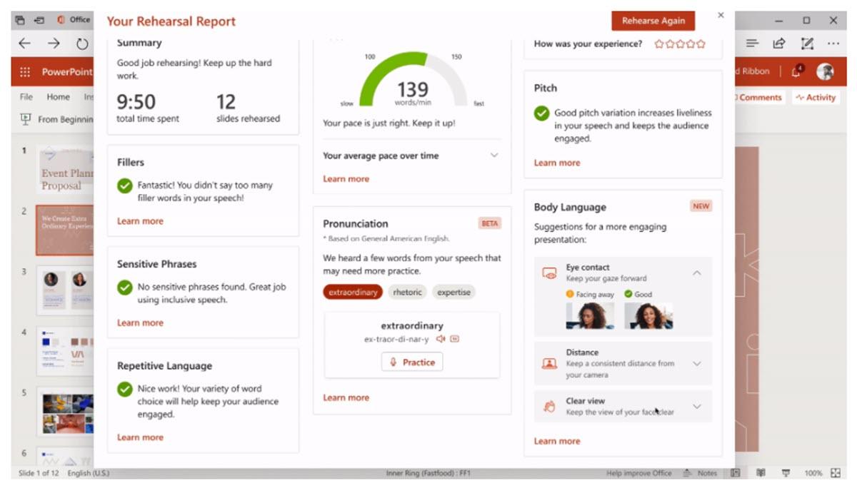 Microsoft lanza nuevas funciones para PowerPoint que te ayudarán a hablar en público