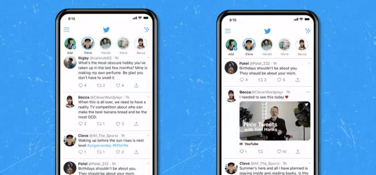 Twitter está probando reproducir vídeos YouTube desde los tweets