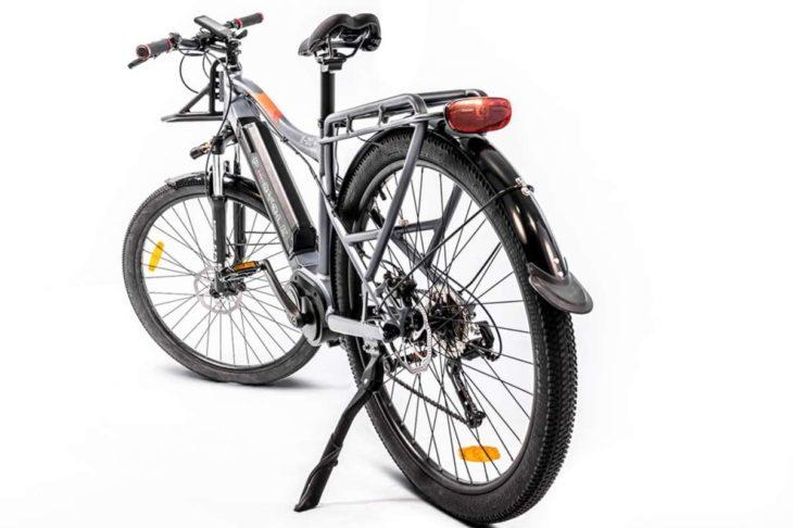 Una mountain bike urbana con 115 km de autonomía