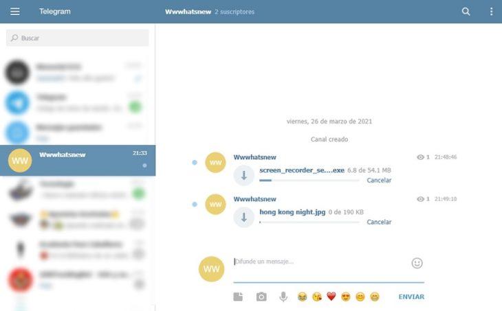 Cómo usar Telegram como sitio para almacenar archivos ilimitados