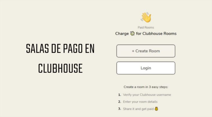 salas de pago en clubhouse