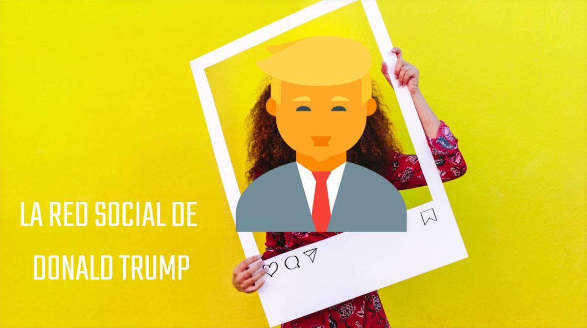 Trump decide crear una red social para él y para sus seguidores