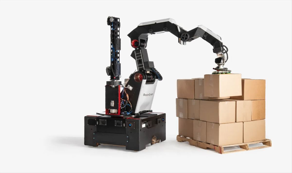 Boston Dynamics presenta Stretch, su nuevo robot comercial