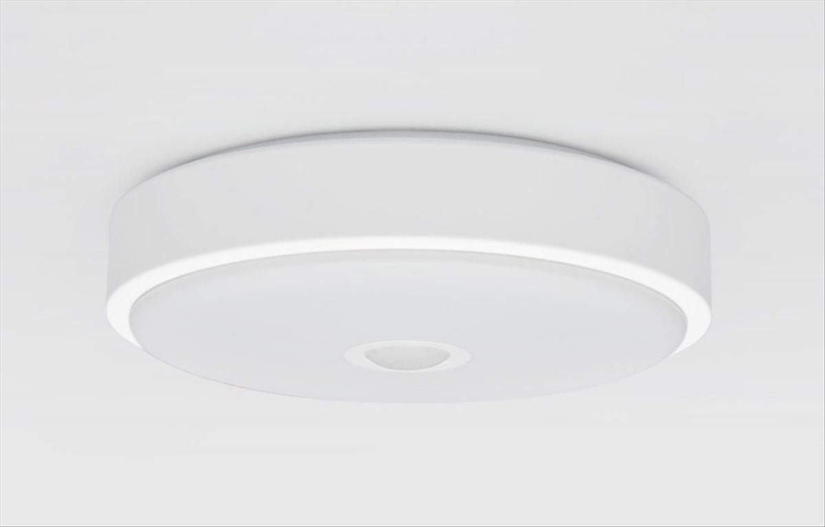 Ceiling light with people sensor
