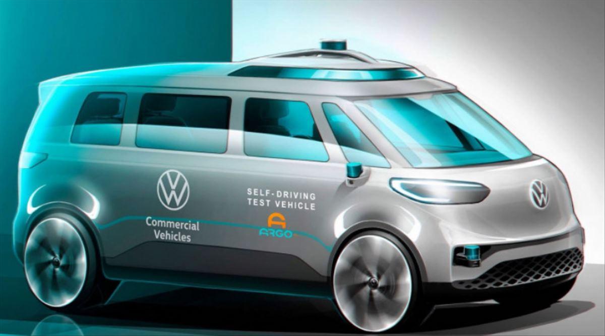 Así será BUZZ, la furgoneta autónoma de Volkswagen