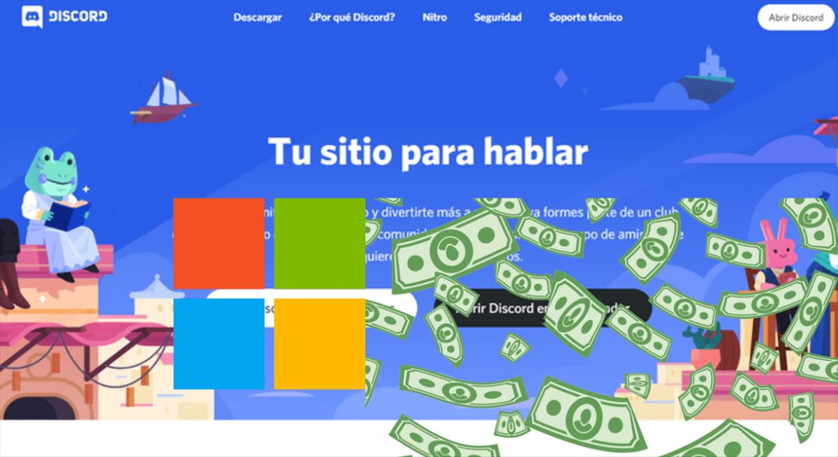 Microsoft quiere comprar Discord por 10.000 millones para integrarlo con Xbox, según Bloomberg