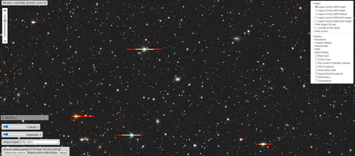Este es el mayor mapa del universo existente en 2D
