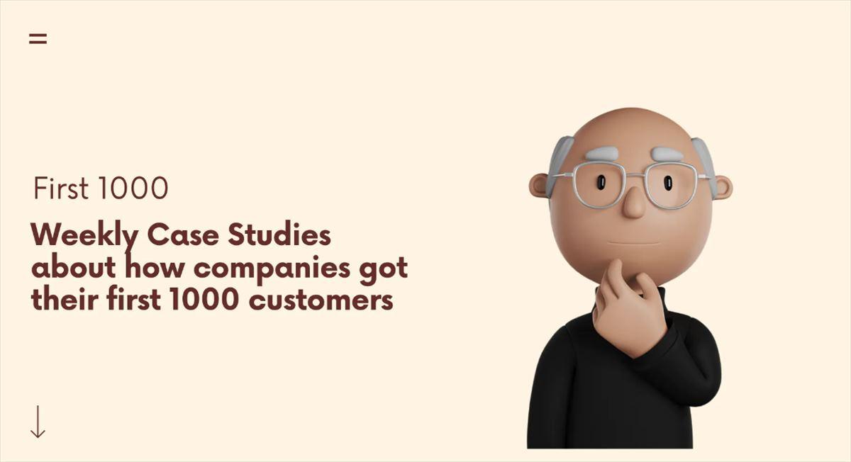 Cómo consiguen las empresas a sus primeros 1000 clientes