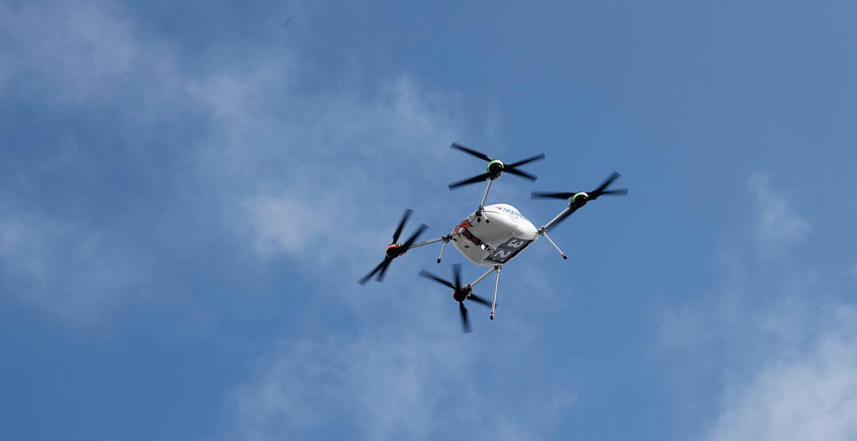 Samsung comienza a usar drones para la entrega de sus productos