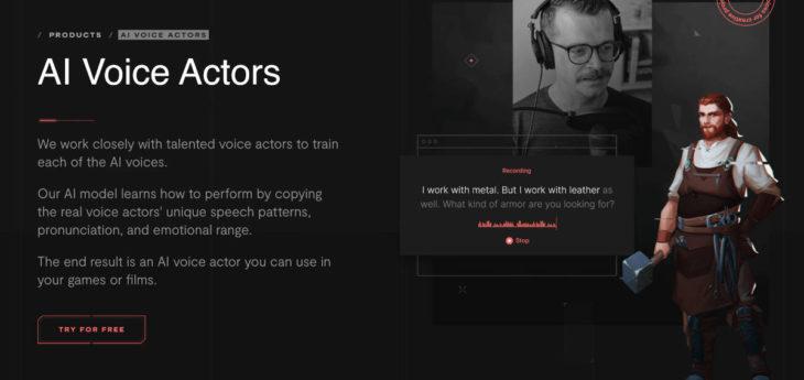 Voces para juegos o vídeos generadas por IA desde una app gratuita