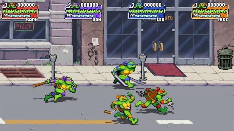 videojuego de las tortugas ninja shredders revenge