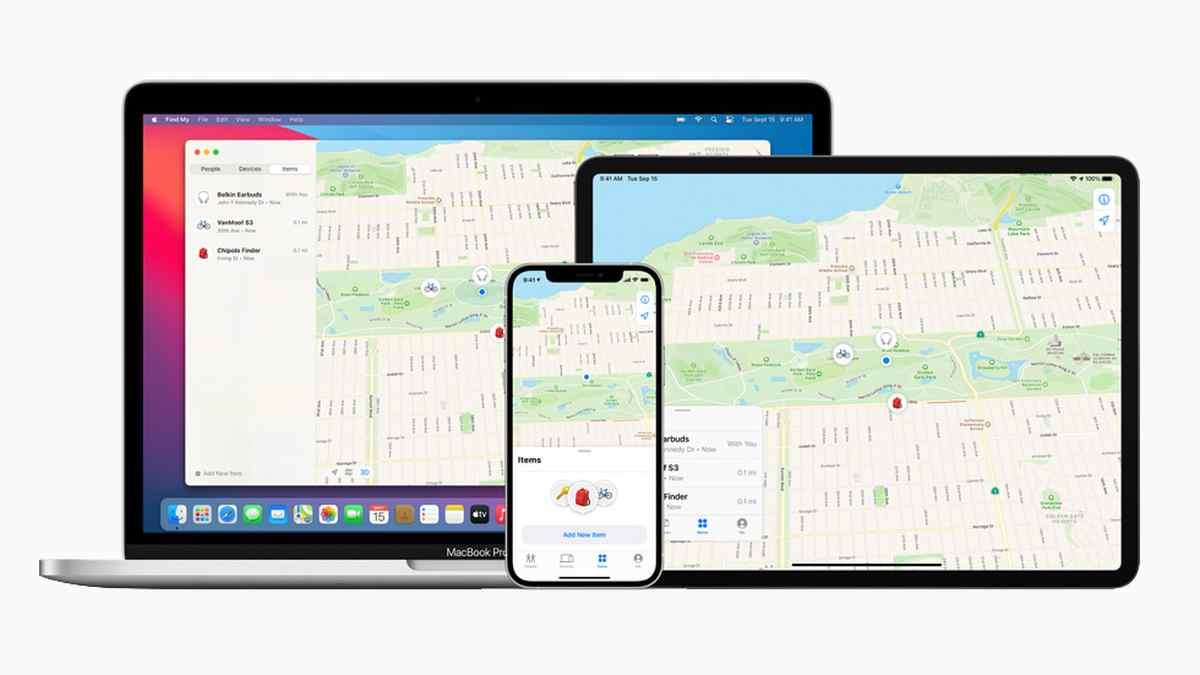 Apple abre su app Find My a la localización de productos de terceros fabricantes
