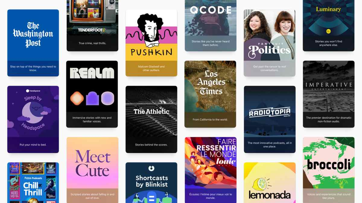 Apple Podcasts Suscriptions