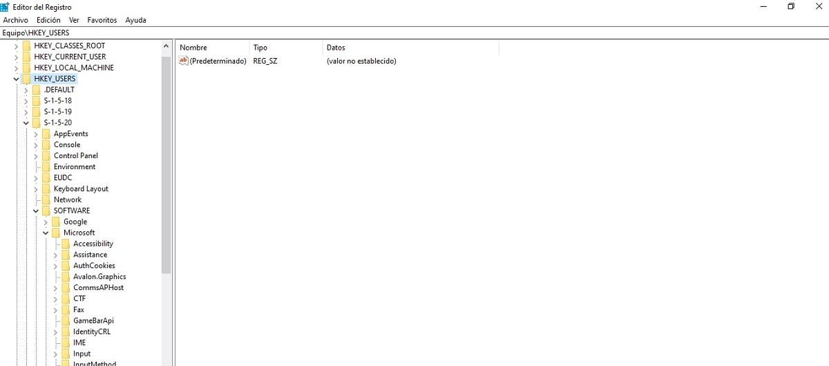 Limpiar registro Windows