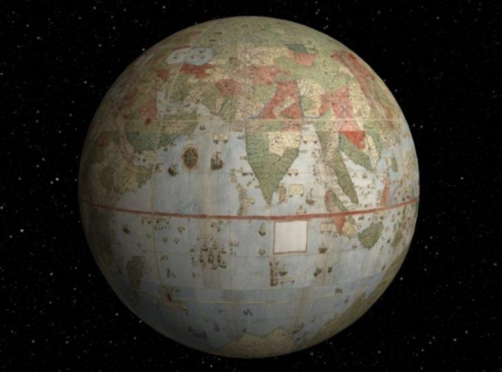 Navega por el mayor mapamundi de la antigüedad