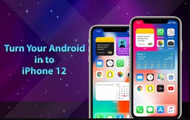 Para darle aspecto de iPhone a nuestro Android