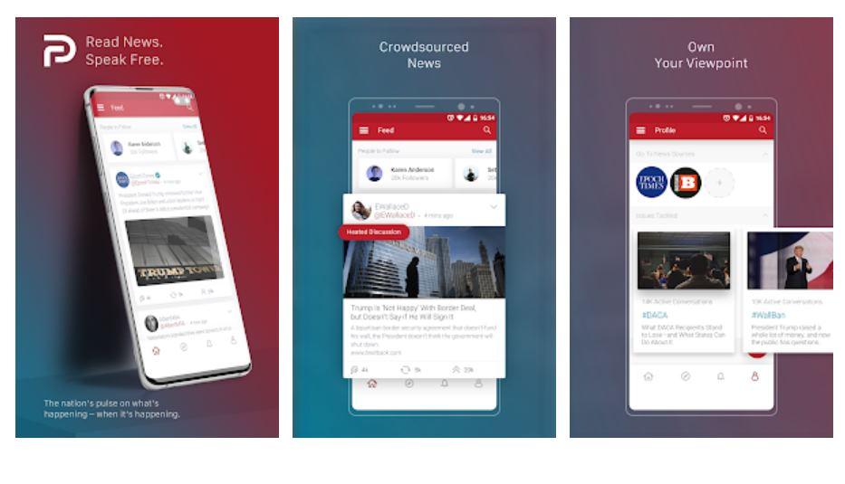 Parler regresará a la App Store la próxima semana con un sistema de moderación