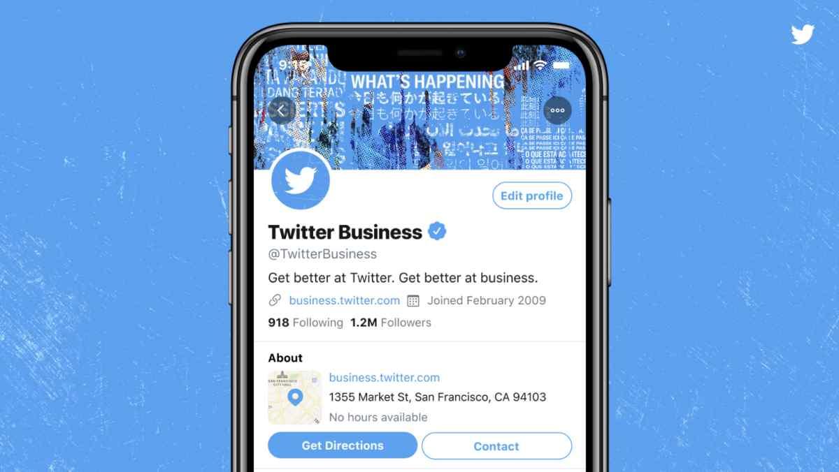 Twitter comienza a probar los nuevos Perfiles Profesionales para empresas