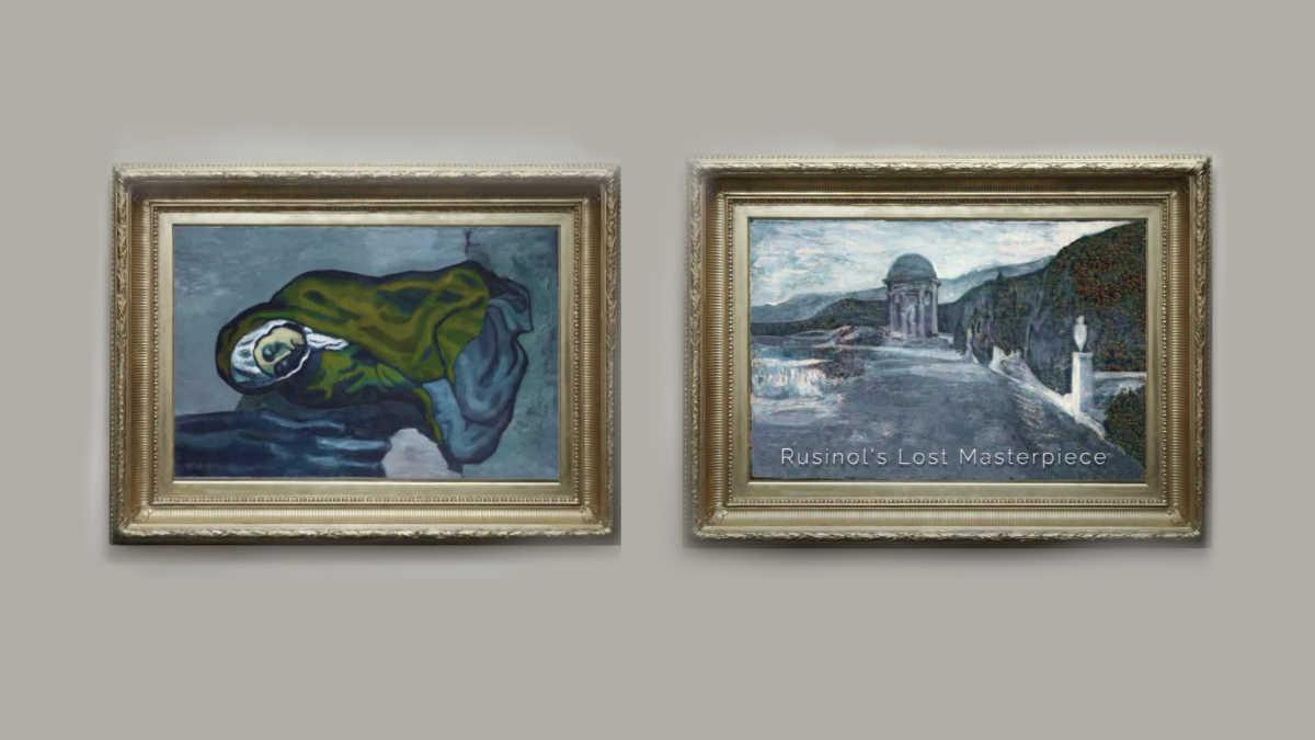 Antigua pintura que permaneció oculta bajo lienzo de Picasso fue restaurada con una IA