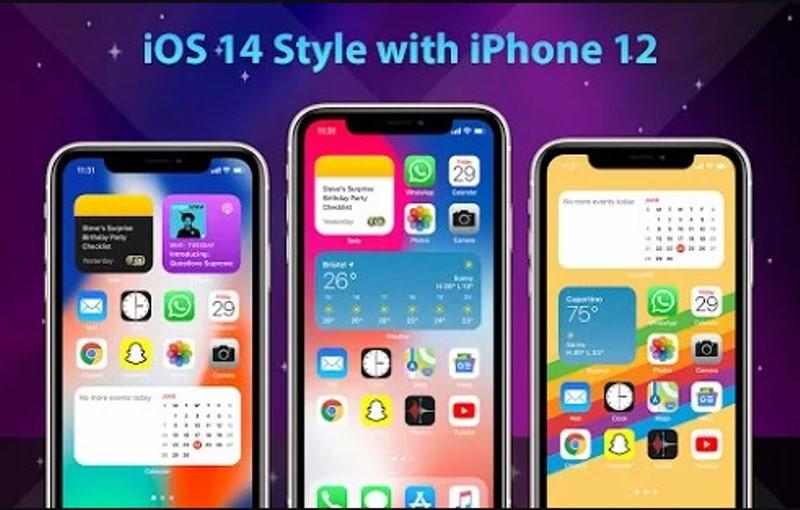 app para replicar interfaz ios en android phone 12 launcher