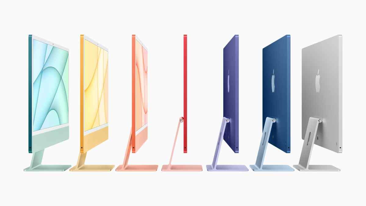 Llegan los iMacs con chip M1, y con un diseño más elegante y compacto