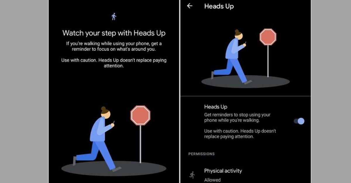 Google lanza una nueva función en Android para que no mires el móvil mientras caminas
