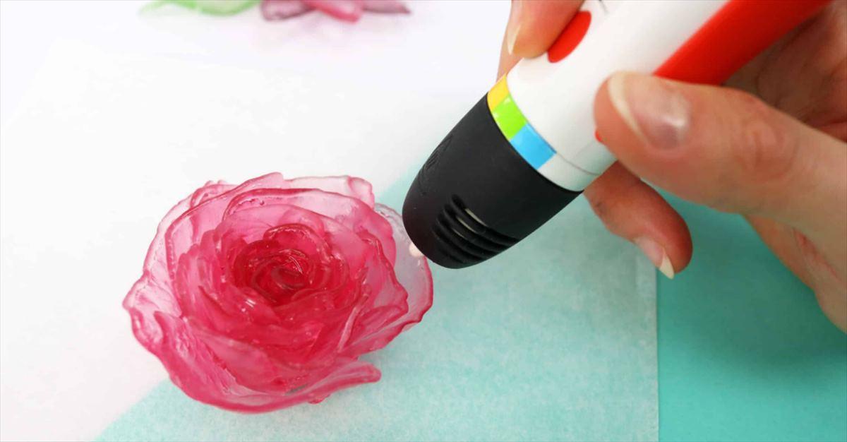 Imprimir dulces en 3D con un bolígrafo de Polaroid