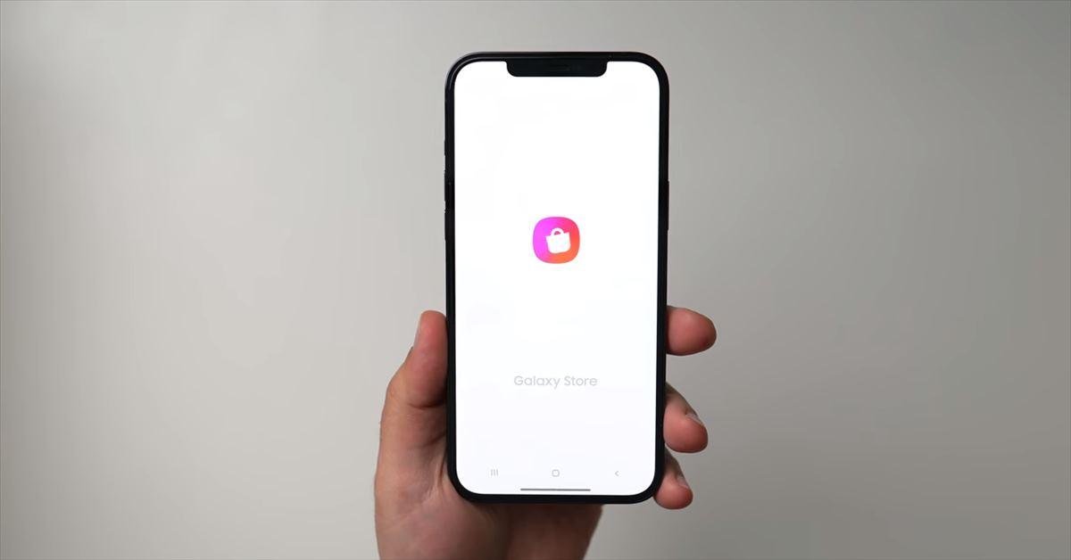 Para probar un Samsung Galaxy desde un móvil iPhone
