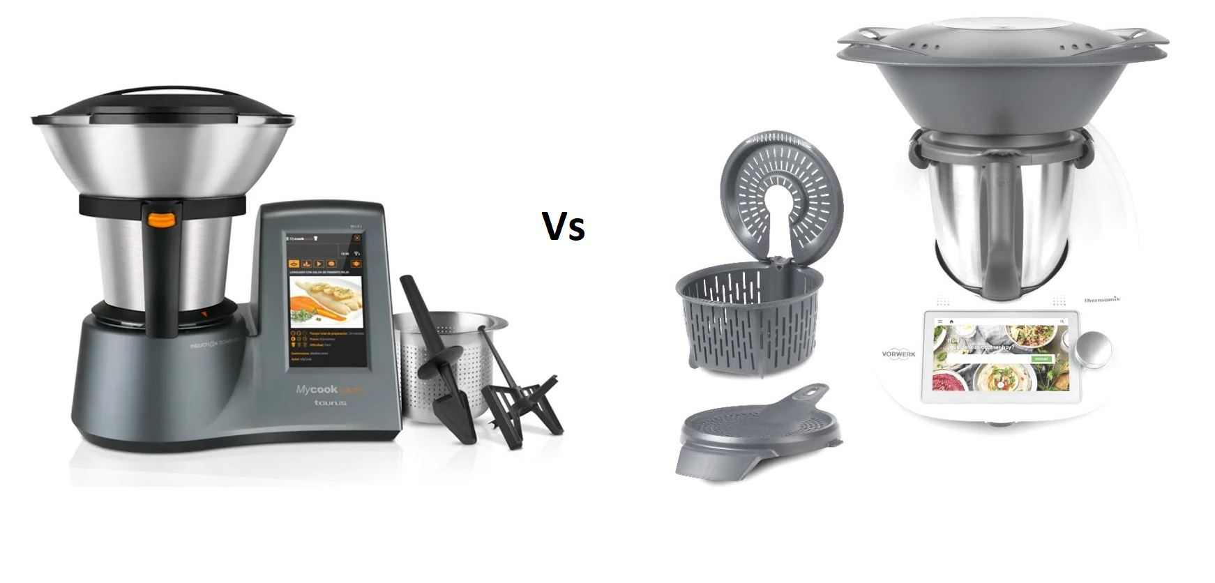 MyCook Touch Vs Thermomix ¿Cuál es mejor?
