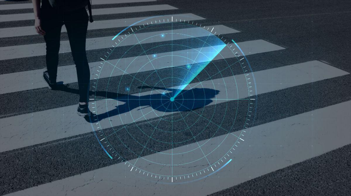 Un sistema de radar para salvar vidas de peatones