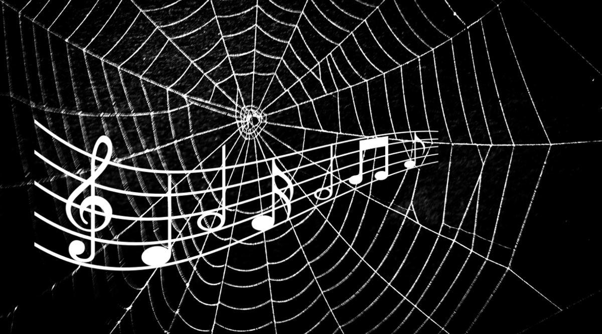 Música extraída de las telarañas, lo nuevo de la ciencia