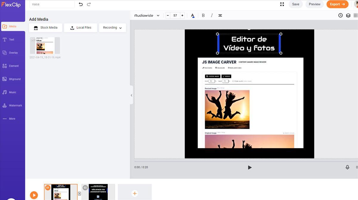 5 ventajas de Flexclip a la hora de editar vídeo para las redes sociales