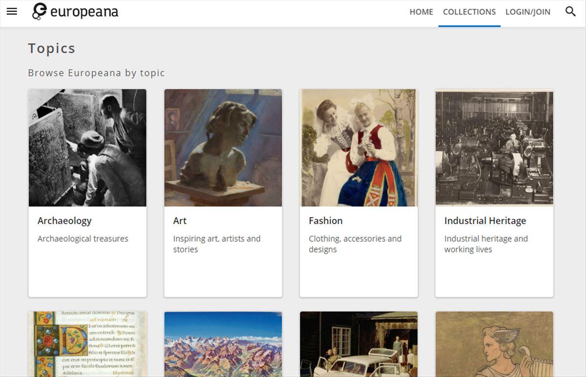 Europeana – Acceso gratuito a millones de libros, obras de arte y música