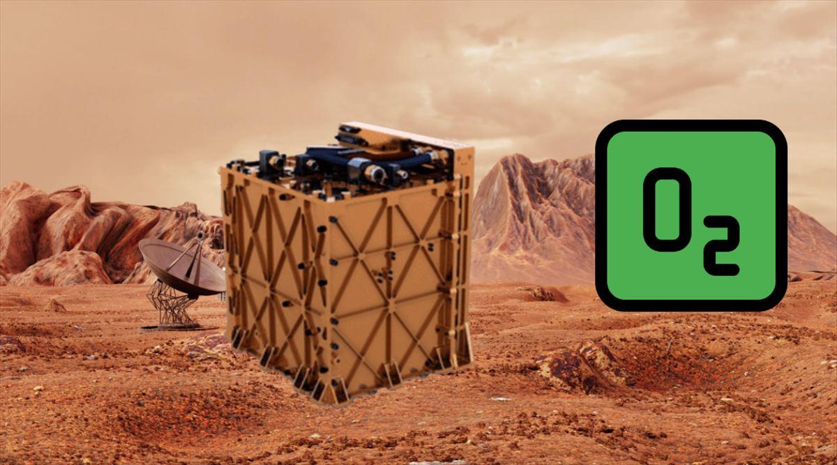 NASA consigue extraer oxígeno de la atmósfera de Marte