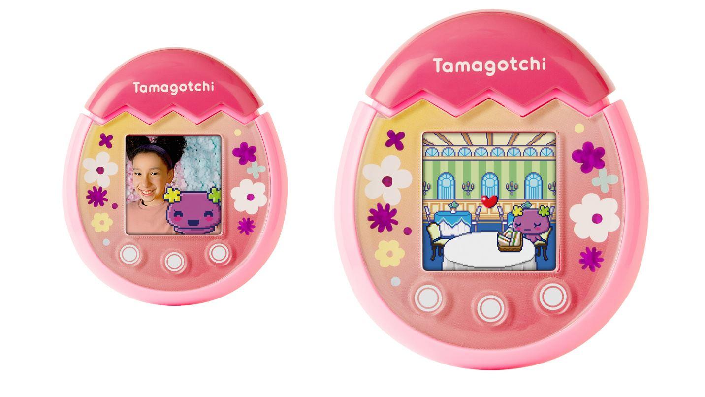 Tamagotchi Pix, la evolución del Tamagotchi, ya permite hacer selfies