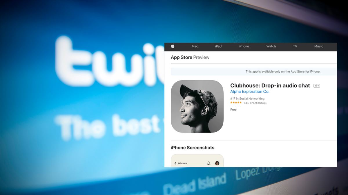 Twitter intentó comprar Clubhouse por 4.000 millones