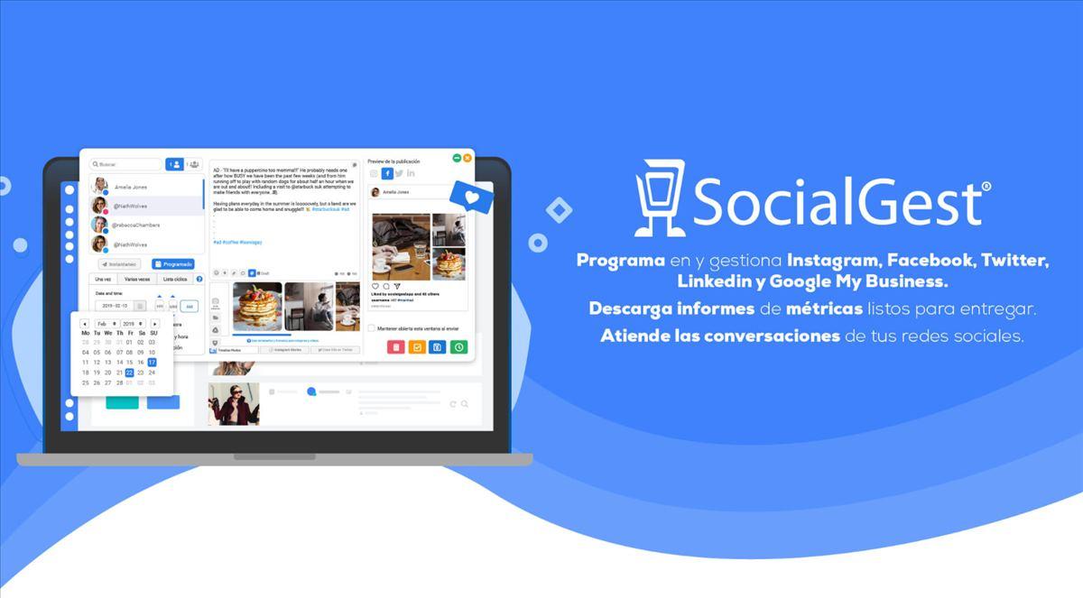 SocialGest: la herramienta de gestión de redes sociales para programar de forma automatizada en Instagram